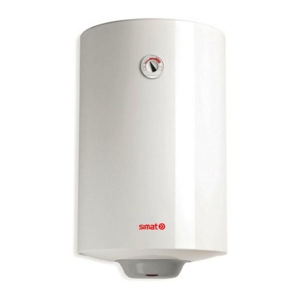 Scaldabagno elettrico simat by ariston 80 litri verticale garanzia 2 anni climamarket - Installazione scaldabagno elettrico ...