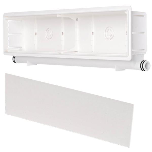 Scatola Predisposizione Installazione Condizionatori E Climatizzatori Fissi  Con Scarico Condensa