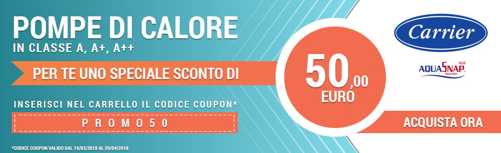 Slide pompe di calore coupon